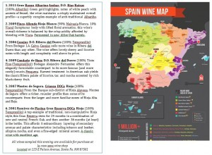 Wine Tasting notes and map_Web